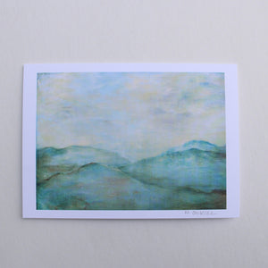Dreams of the Blue Ridge - 5x7 Notecard