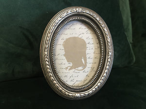Small Oval picture/photo frame