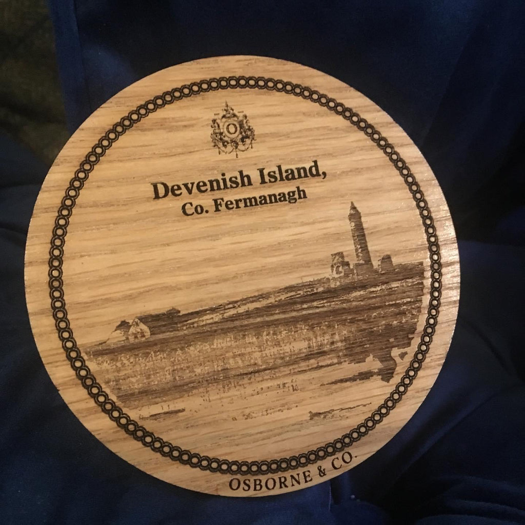 Devenish Island-Woodfolk Fermanagh Coaster