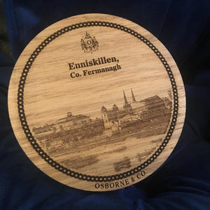 Enniskillen Castle-Woodfolk Fermanagh Coaster