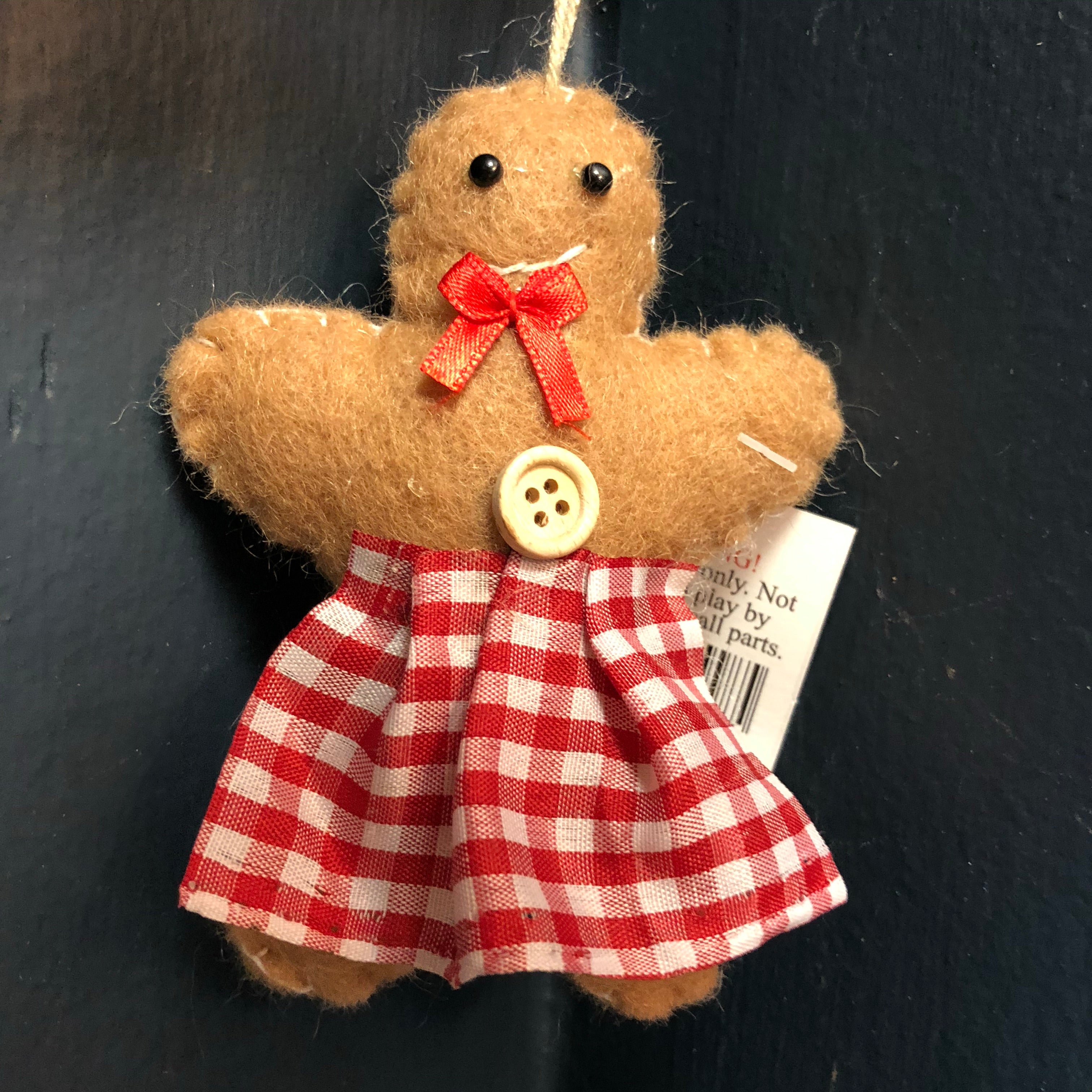 Cute Gingerbread woman