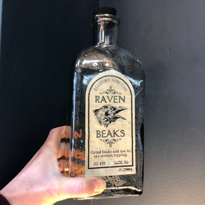 Raven Beaks potion bottle