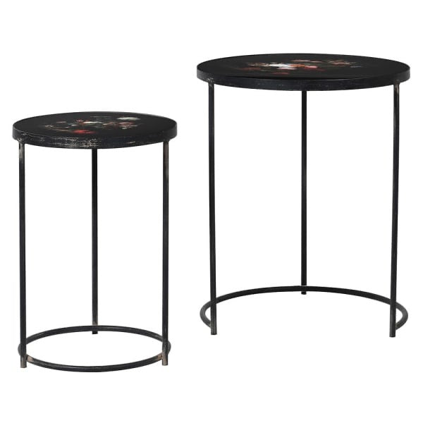 Botanical nesting table set