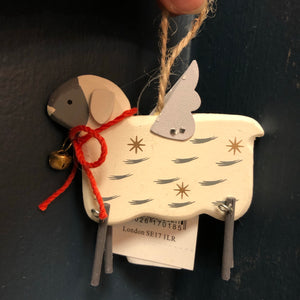 Flying sheep decoration