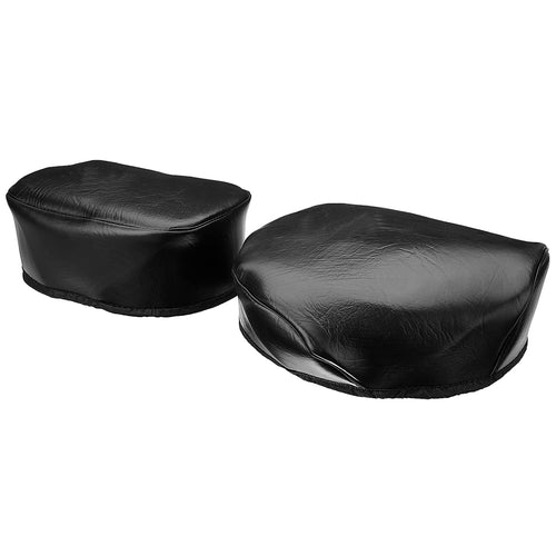 Leatherette Seat Cover Black color  For Royal Enfield Classic Motorcycle