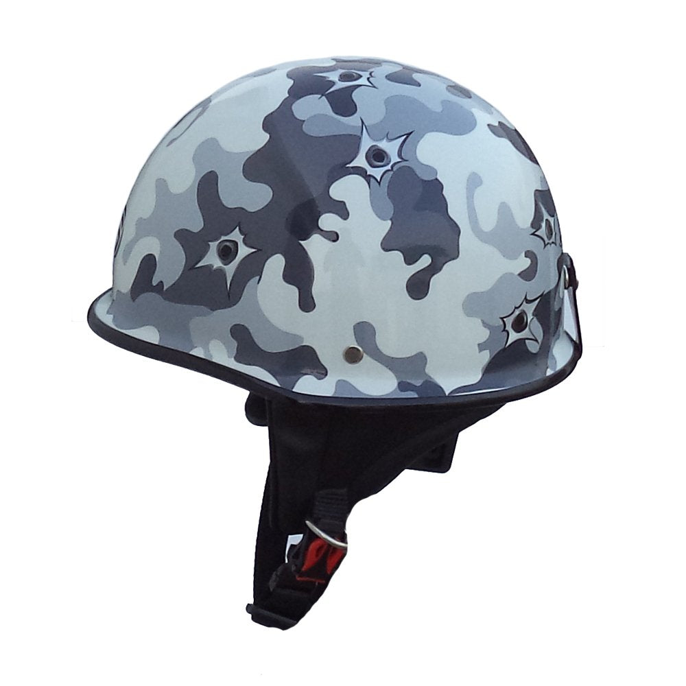 Mini German Style Multicolored Half Helmet