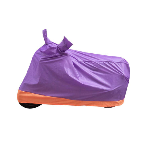 BikeNwear Economy Dual Color Universal Body Cover-Purple Orange