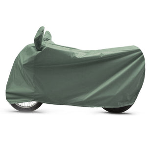 BikeNwear heavy-Duty Water Proof Body Cover for Royal Enfield Motorcycle-Olive green/Military