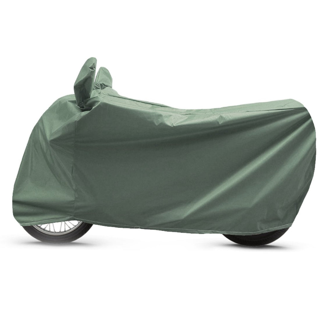 BikeNwear heavy-Duty Water Proof Body cover for Hero Motorcycles-Olive green/Military