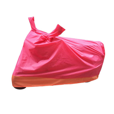 BikeNwear Economy Dual Color Universal Body Cover-Red Orange