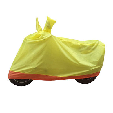 BikeNwear Economy Dual Color Universal Body Cover-Yellow Orange