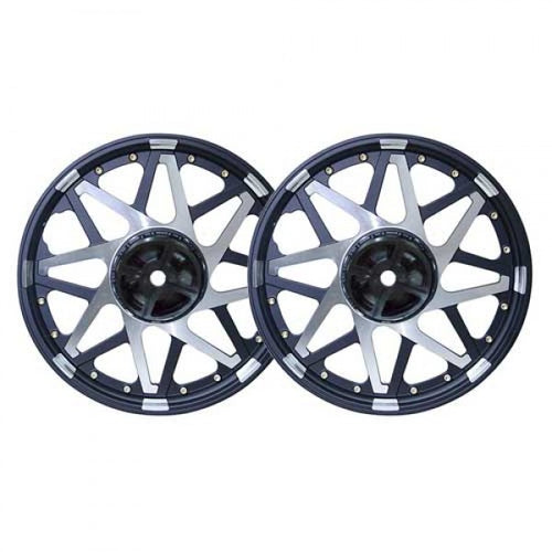 Alloy Wheel Star Design Double Disk For Royal Enfield Classic 350CC & 500CC Modals