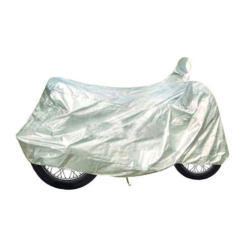 BikeNwear light weight water resistance Body cover for Honda Motorcycle Silver