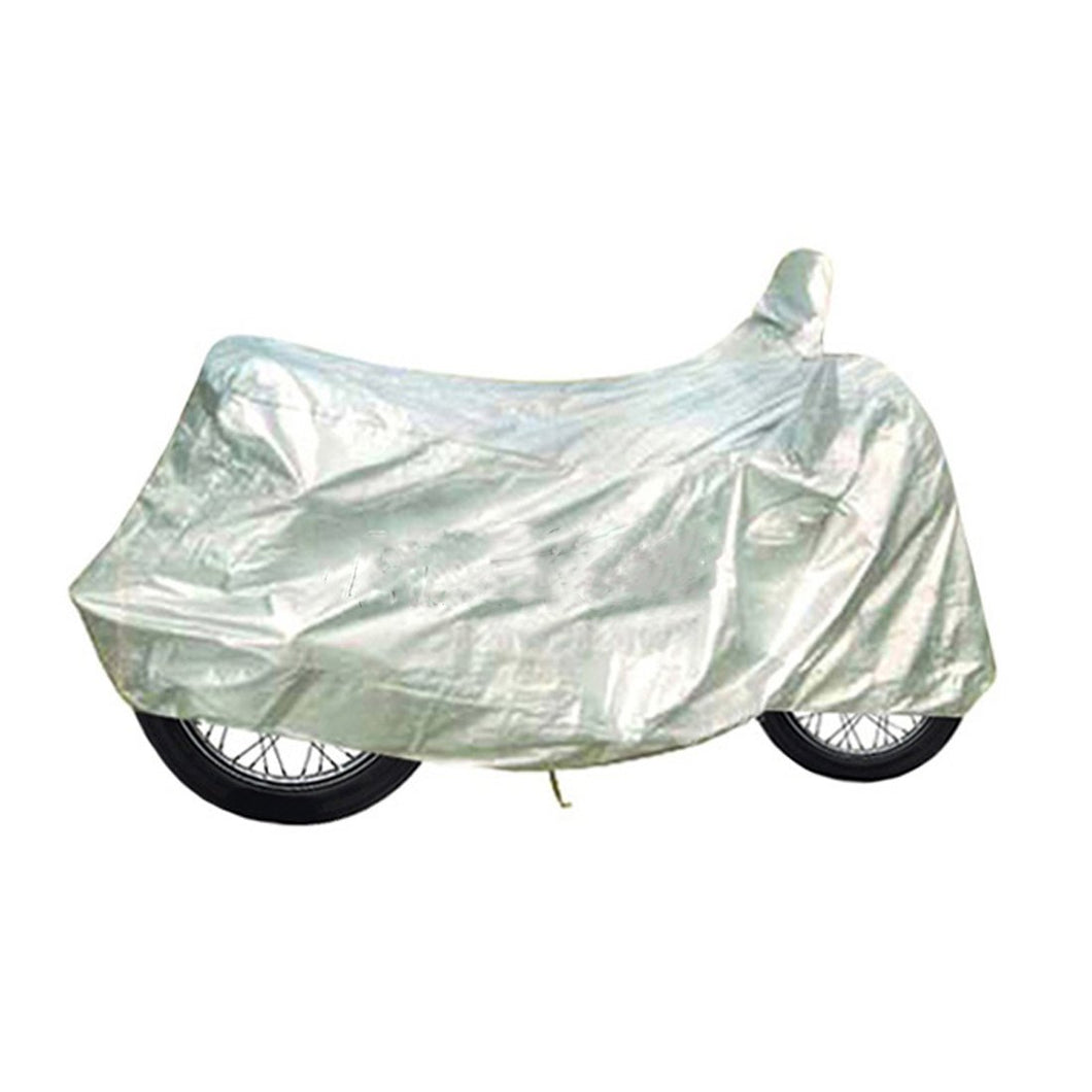 BikeNwear light weight water resistance Body cover for Hero Motorcycles Silver