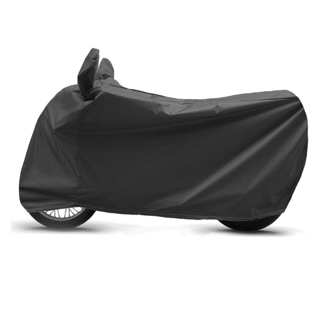 BikeNwear Heavy Duty Water Proof Body cover for Jawa Motorcycle Black