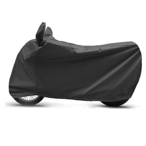 BikeNwear Light Weight Water Proof  Body cover for TVS Bikes-Black