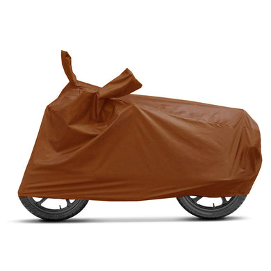 BikeNwear Economy Plain Universal Body Cover-Brown