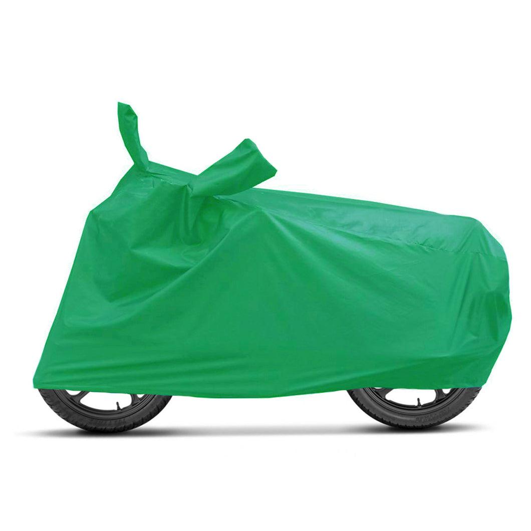 BikeNwear Economy Plain Universal Body Cover-Green