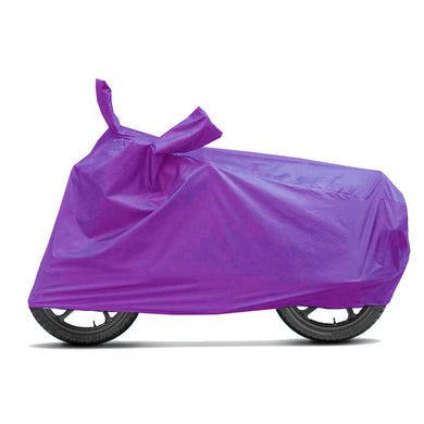 BikeNwear Economy Plain Universal Body Cover-Purple