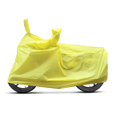BikeNwear Economy Plain Universal Body Cover-Yellow