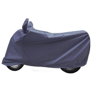 BikeNwear Heavy Duty Water Proof Body Cover for Yamaha Motorcycle Dark Blue