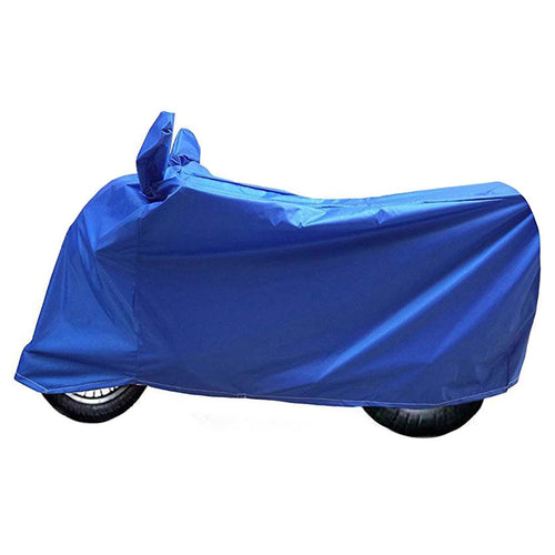 BikeNwear Light Weight Water Proof Body cover for Honda Motorcycle Light Blue