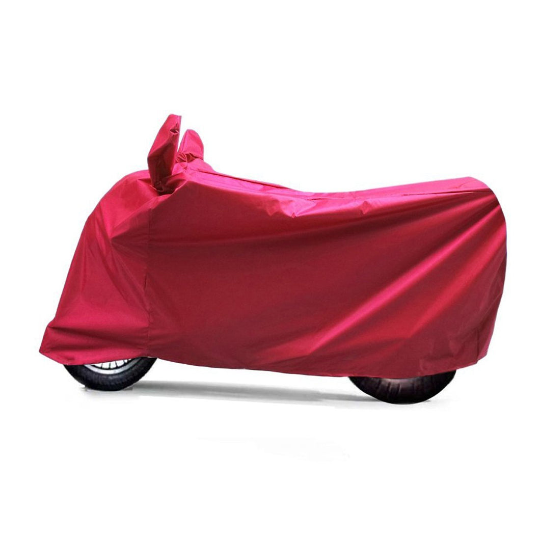 BikeNwear Light Weight Water Proof Body cover for Vespa Scooter Red