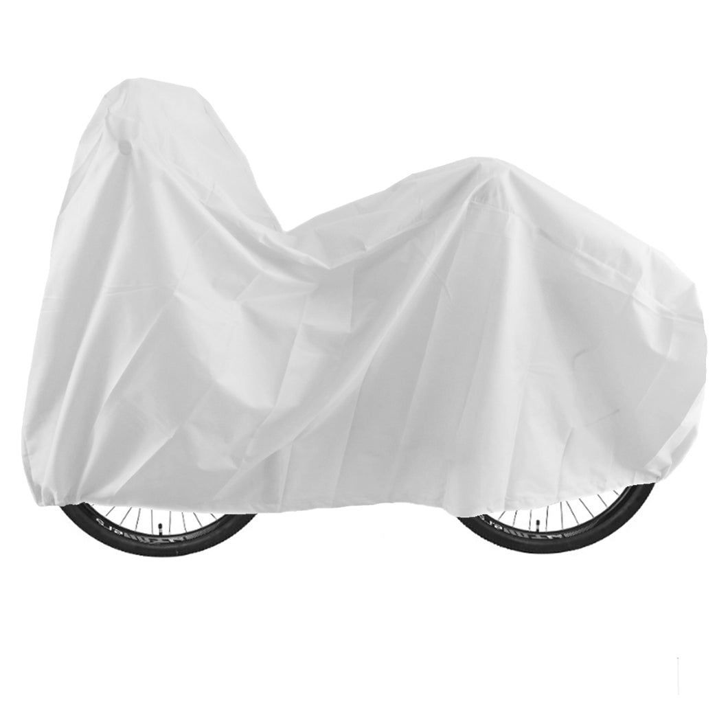 BikeNwear Universal Water Resistance Bicycle Cycle Cover White