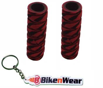 Foam Grip Cover Met  Light Pink  With BikeNwear Key Chain