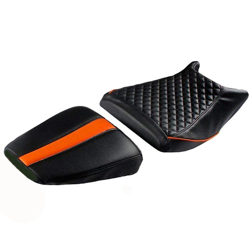 KTM Duke Black Orange With Foam 200 & 390 Seat Cover
