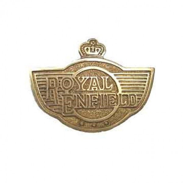 Brass Badge Small For Royal Enfield Motorcycle