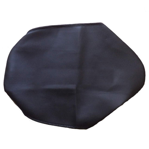 Leatherette Seat Cover Black For Bajaj Platina