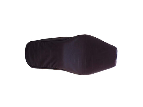 Leatherette Seat Cover Dark Brown For Royal Enfield Electra