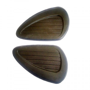 Thigh Knee Tank Pad Set For Royal Enfield Motorcycle Bullet Classic