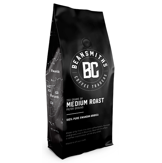 BEANSMITHS RWANDA SINGLE ORIGIN ARABICA HOUSE BLEND 250 g
