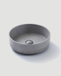 Concrete Round Basin (Grey)