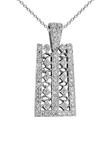 18k Diamond Necklace P-645