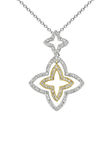 18k Diamond Necklace P-761