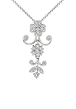 18k Diamond Necklace P-763