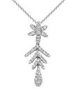18k Diamond Necklace P-733