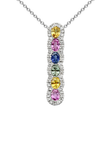 18k Diamond Necklace P-718