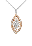 18k Diamond Necklace P-756