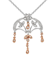 18k Diamond Necklace P-716