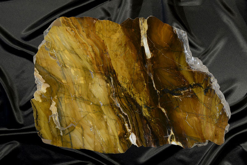 Stunning Jasper Round From Oregon - Coffee Table, Wall-Mount