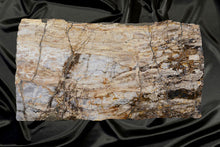 Load image into Gallery viewer, Oregon Petrified Wood Live Edge Table - Desk, Countertop or Dining Table
