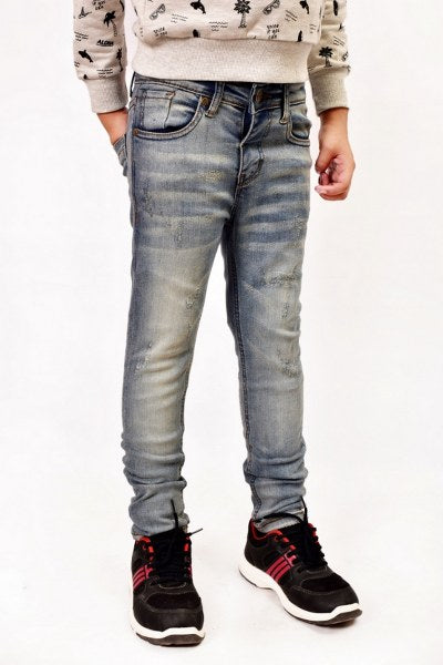 Kid Denim Trouser Sky