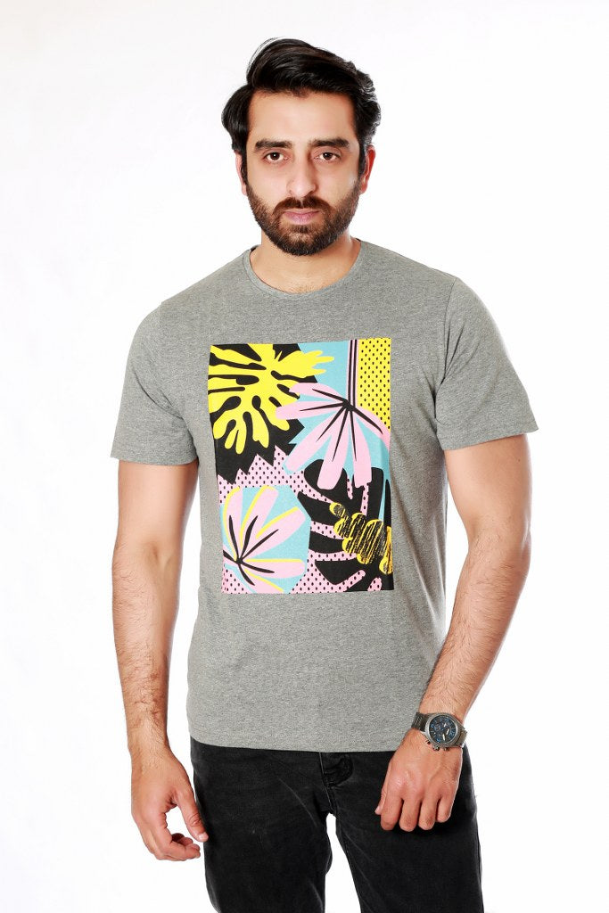 Grey t-shirts for mens