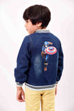 Kids Long Sleeve Denim Jacket