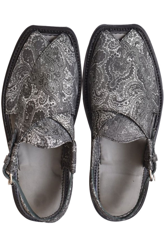 Men Charsadda Chappal Grey