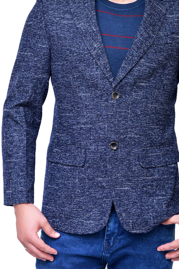 Charcoal Casual Coat for men